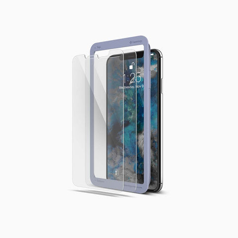 iPhone Xs Max Tempered Glass Screen Protector clear