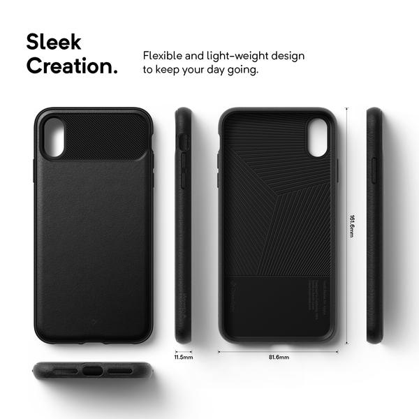 the latest e262a acac7 iPhone Xs Max Case Caseology Vault for iPhone Xs Max - Black / B07GFS87TL