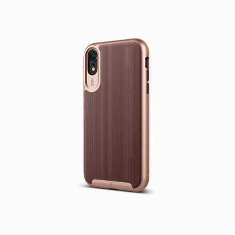 iPhone Cases -     iPhone XR Cases Wavelength  Burgundy