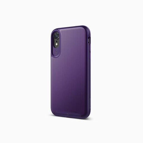 iPhone Cases -     iPhone XR Cases Wavelength for iPhone XR  Purple