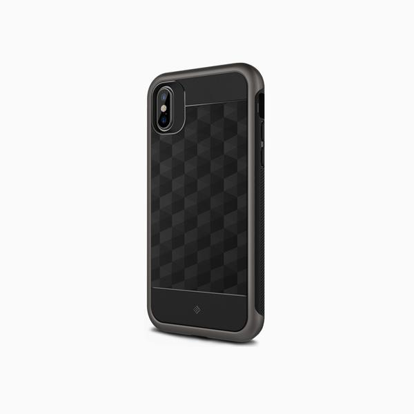black iphone xs case
