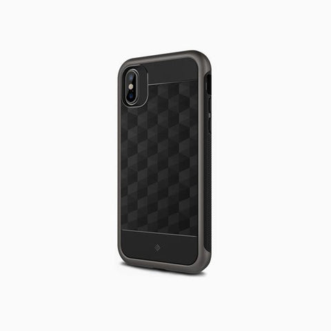 iPhone Cases -     iPhone Xs Cases Parallax  Black / Warm Gray