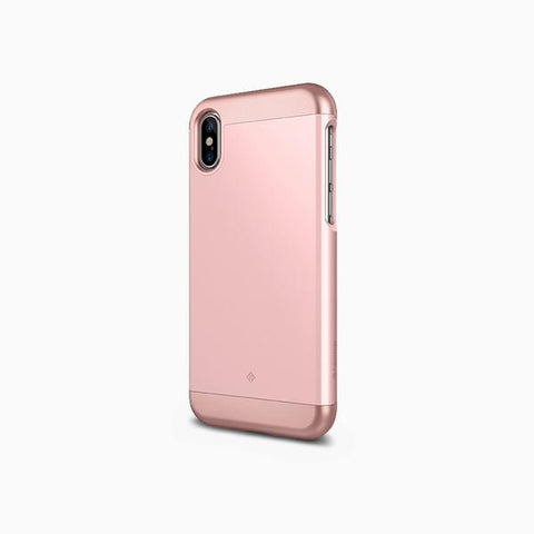iPhone Cases -     iPhone Xs Cases Savoy  Rose Gold