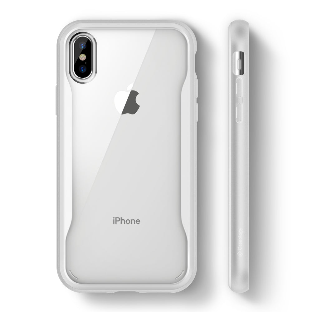 reputable site bcb8b a408b iPhone Xs Case Coastline - White / B075HPZMSC