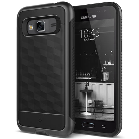 Galaxy J3 Cases Parallax for Galaxy J3  Black