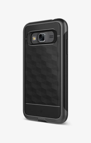 Galaxy J3 Cases Parallax  Black