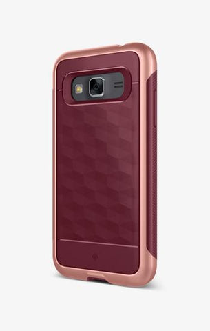 Galaxy J3 Cases Parallax for Galaxy J3  Burgundy