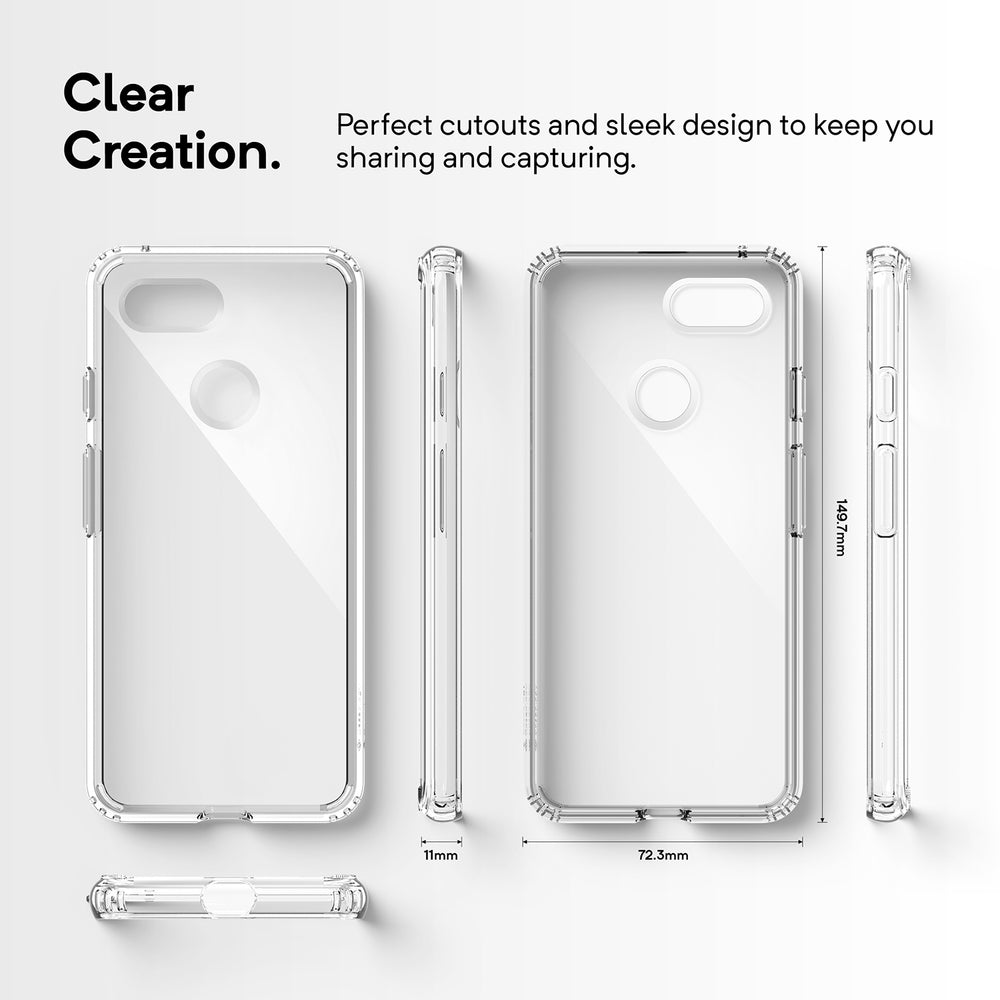 Waterfall Google Pixel 3 Case Caseology Shining Crystal Clear For Xiaomi Redmi