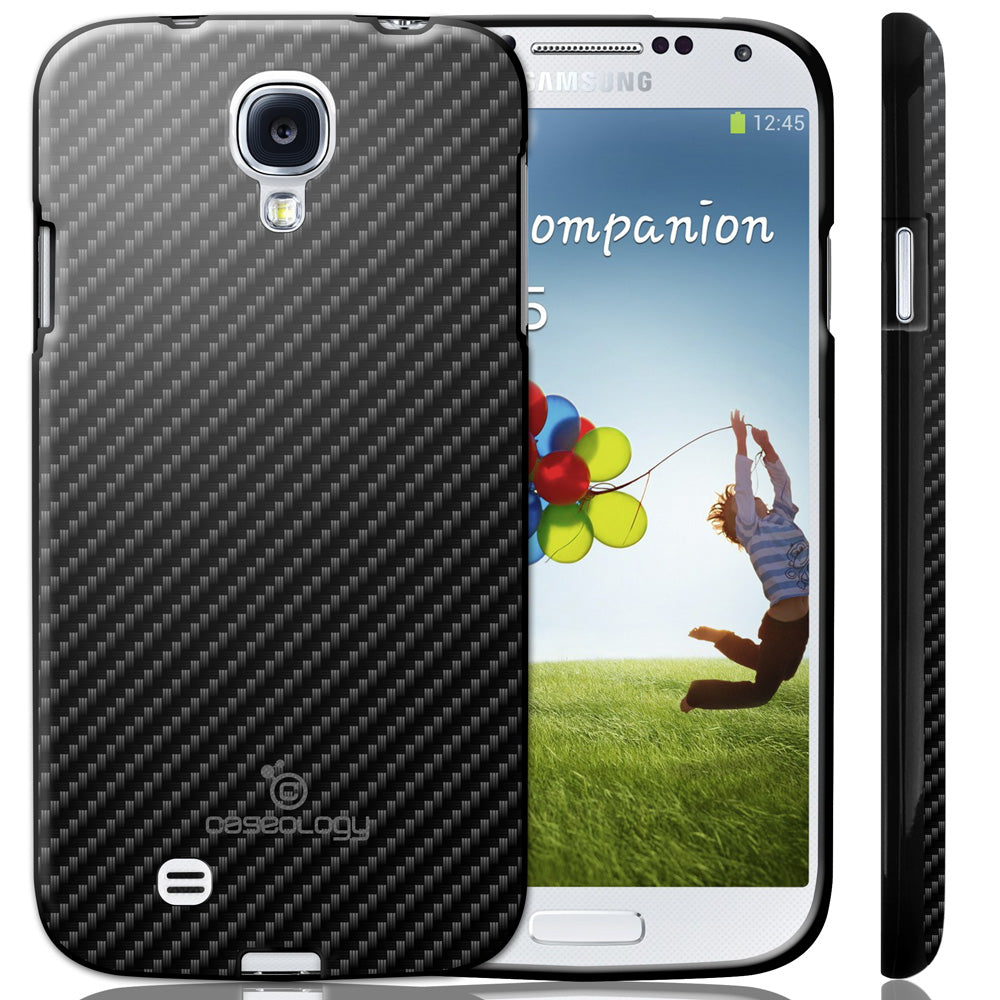 X Galaxy S4 Carbon Fiber Hybrid Case