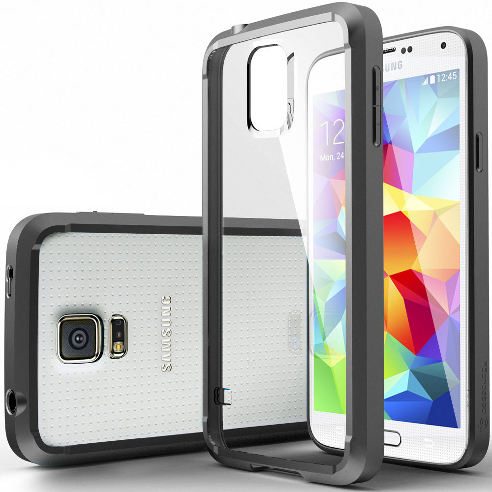 Galaxy S5 Case Clear Back Bumper