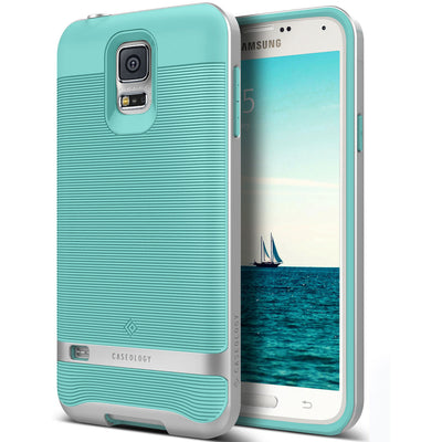 Caseology Galaxy S5 Case Wavelength Series in Turquoise Mint