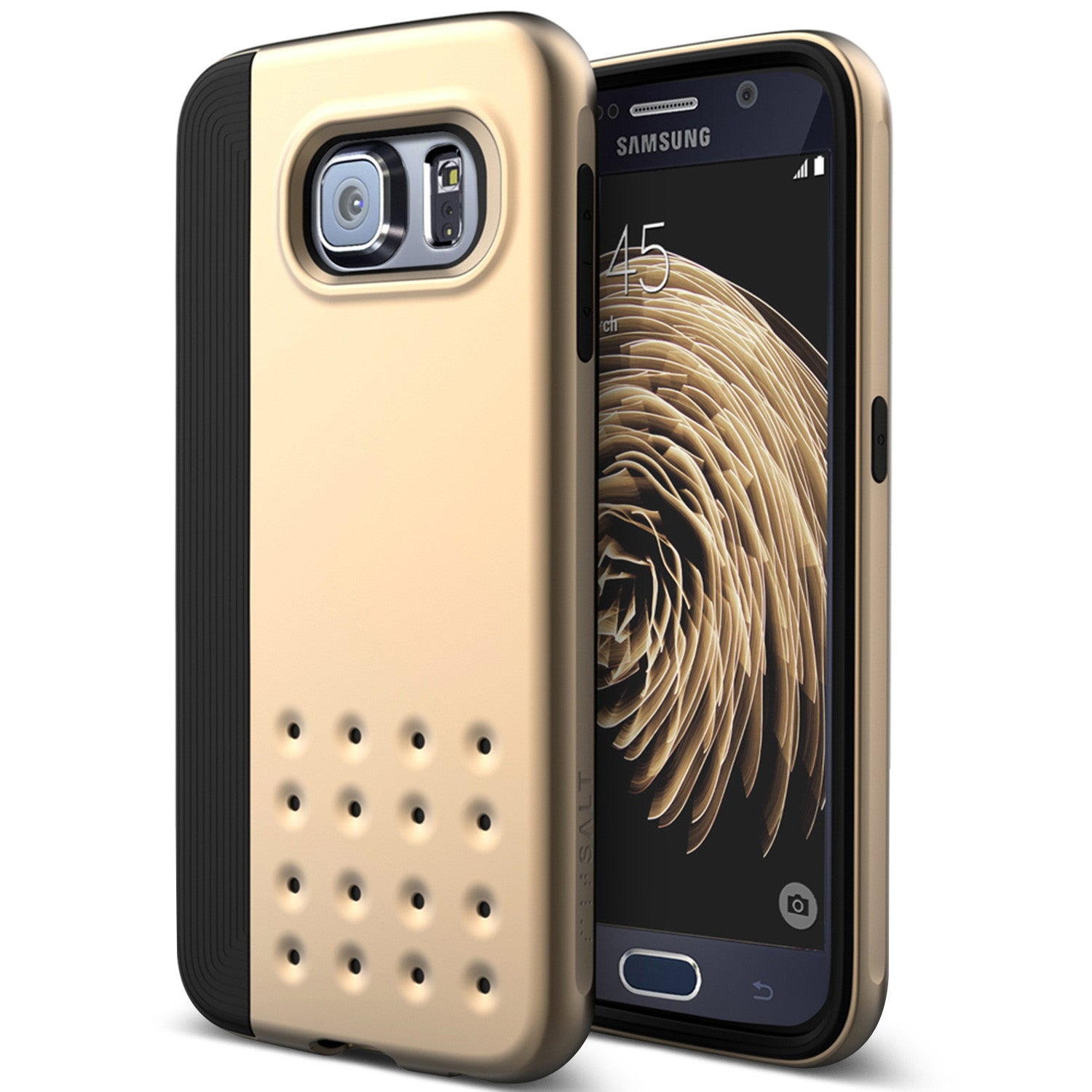 Caseology Galaxy S6 Case Threshold Series in Gold