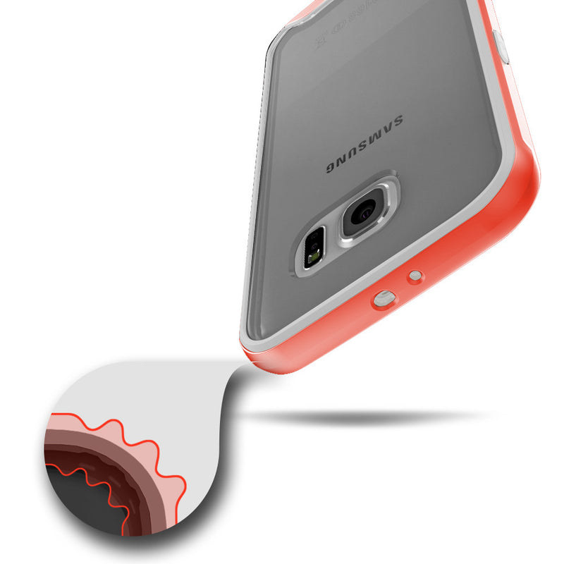 Caseology Galaxy S6 Case Waterfall Series in Pink