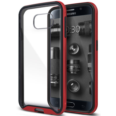 Caseology Galaxy S6 Case Waterfall Series in Red