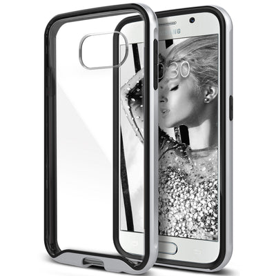 Caseology Galaxy S6 Case Waterfall Series in Silver