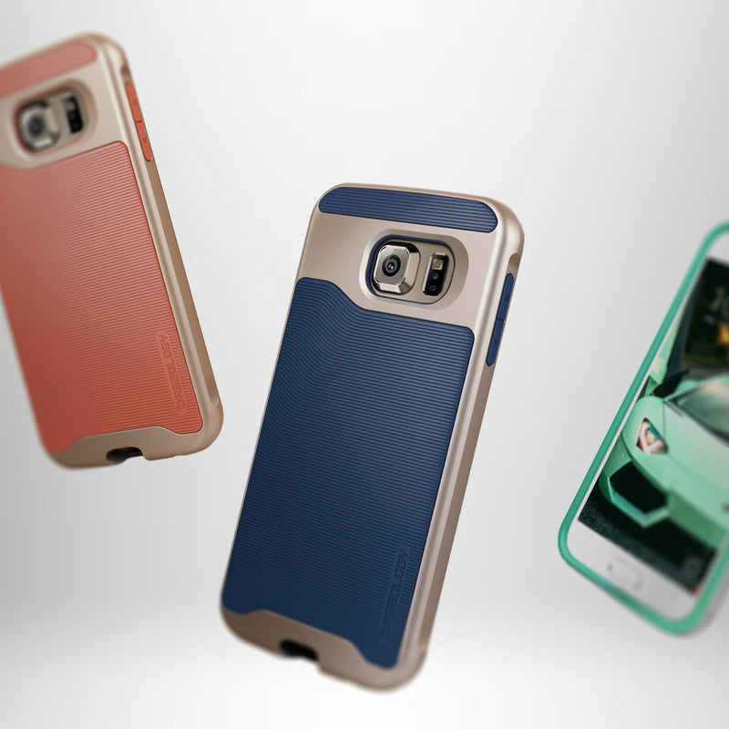 Caseology Galaxy S6 Case Wavelength Series in all colors
