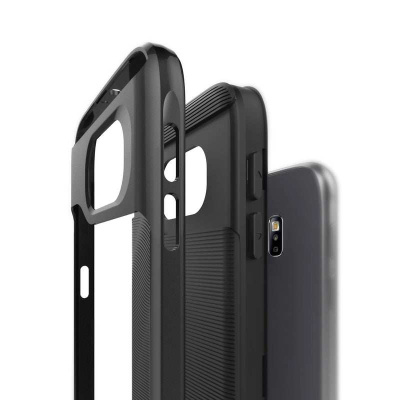 Caseology Galaxy S6 Case Wavelength Series in Black