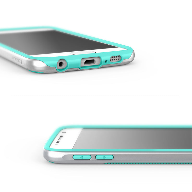 Caseology Galaxy S6 Case Wavelength Series in Turquoise Mint