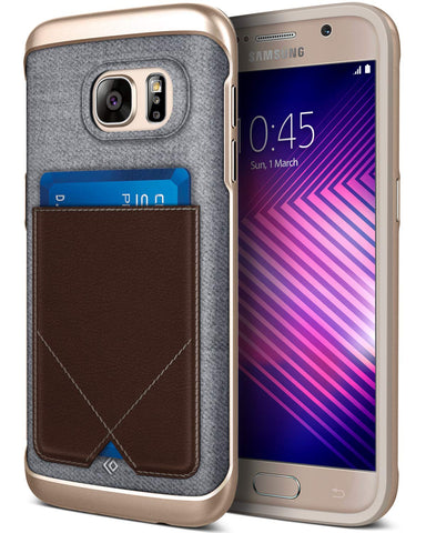Galaxy S7 Cases Messenger  Brown