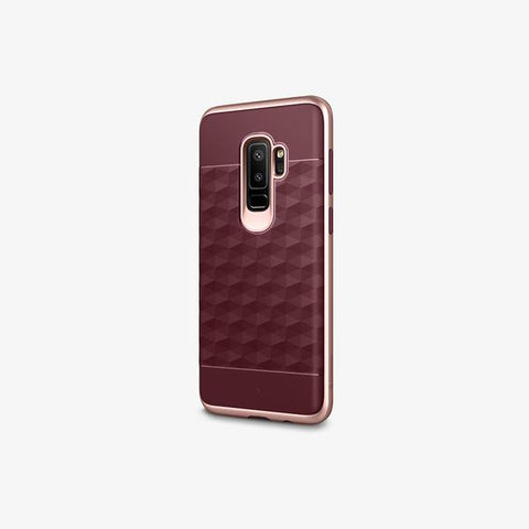 Galaxy S9 Plus Cases Parallax  Burgundy