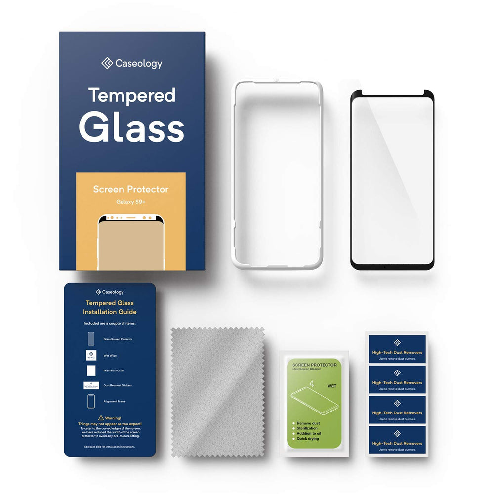 Galaxy S9 Plus Tempered Glass Screen Protector for Galaxy S9 Plus - 1 Pack  / B079DXQYC8