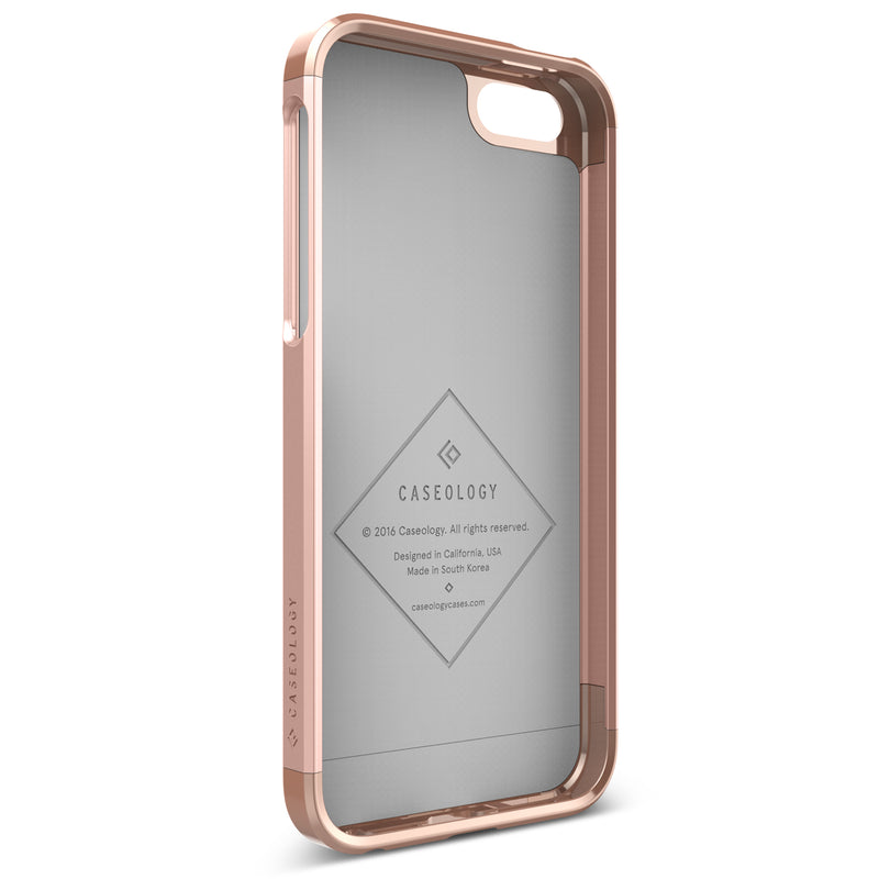 Caseology iPhone SE Case Savoy Series in Rose Gold