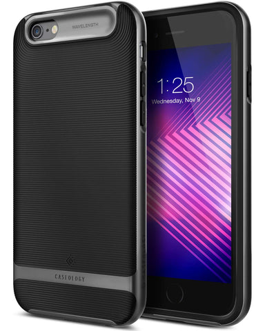 iPhone Cases -     iPhone 6S Plus / 6 Plus Wavelength  Black