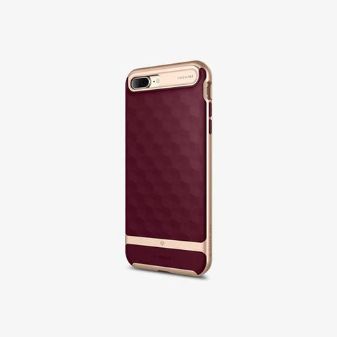 iPhone 7 Plus Cases Parallax  Burgundy