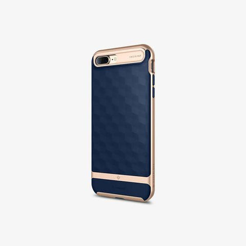 iPhone Cases -     iPhone 7 Plus Parallax  Navy Blue