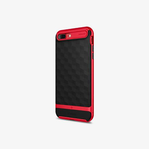 iPhone 7 Plus Cases Parallax  Red
