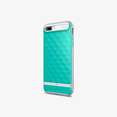 iPhone Cases -     iPhone 7 Plus Parallax  Mint Green