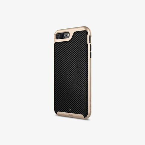 iPhone 7 Plus Cases Envoy  Carbon Fiber Black