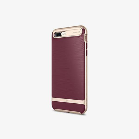 iPhone 7 Plus Cases Wavelength  Burgundy