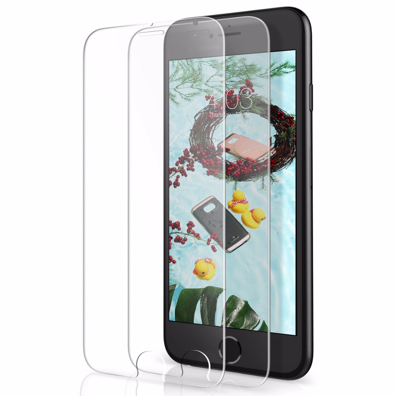 iPhone 8 Plus Tempered Glass Screen Protectors