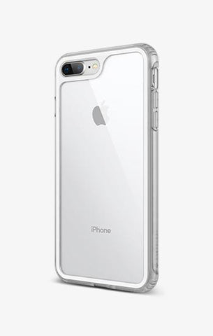 iPhone Cases -     iPhone 8 Plus Coastline White Gray