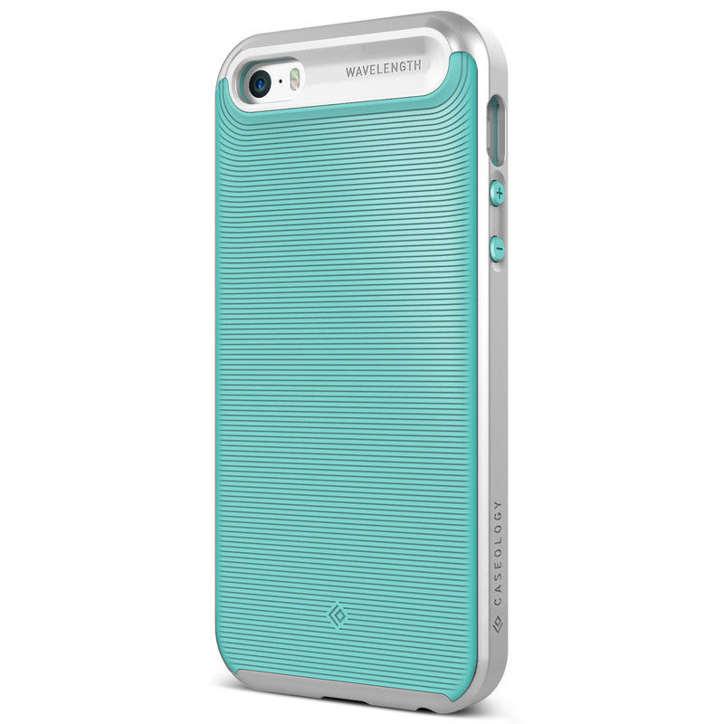 Caseology iPhone 5S 5 SE Case Wavelength Series in Turquoise Mint