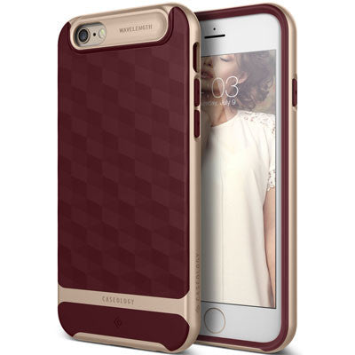 Caseology iPhone 6S 6 case Parallax Series in Burgundy