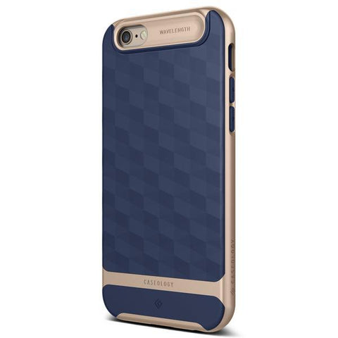 iPhone Cases -     iPhone 6S Parallax Navy Blue