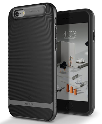 iPhone Cases -     iPhone 6S Wavelength Black