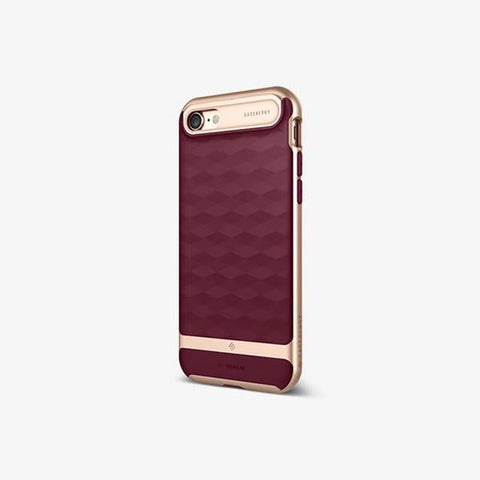 iPhone Cases -     iPhone 7 Parallax  Burgundy