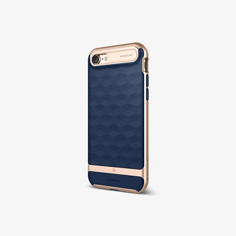 iPhone Cases -     iPhone 7 Parallax  Navy Blue