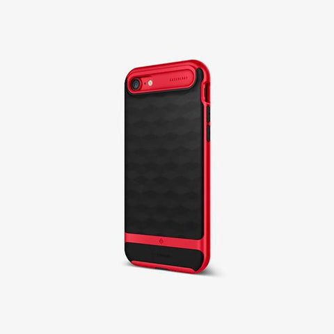 iPhone Cases -     iPhone 7 Parallax  Red