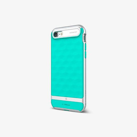 iPhone 7 Cases Parallax  Mint Green
