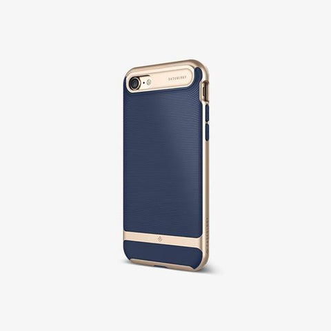 iPhone Cases -     iPhone 7 Wavelength  Navy Blue