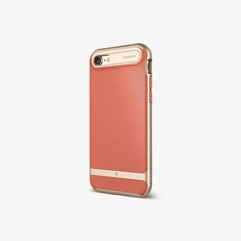 iPhone Cases -     iPhone 7 Wavelength  Coral Pink