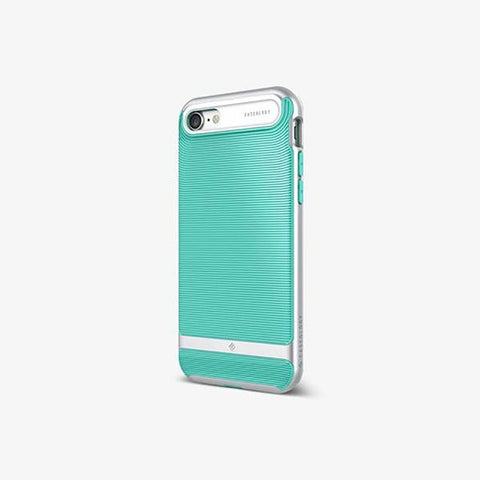 iPhone Cases -     iPhone 7 Wavelength  Mint Green