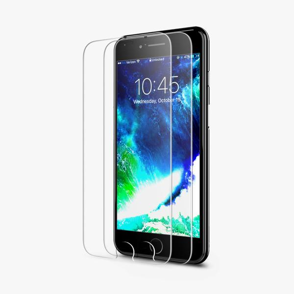 official photos 2d4b7 6d321 iPhone 8 Tempered Glass Screen Protector - 2 Pack / B075K59N8T