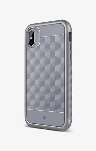iPhone Cases -     iPhone X Parallax Ocean Gray
