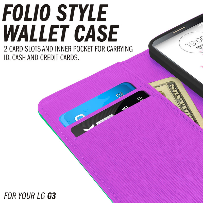 G3 Case Leather Wallet