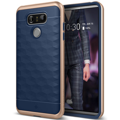 Caseology LG G6 Case Parallax Series in Navy Blue
